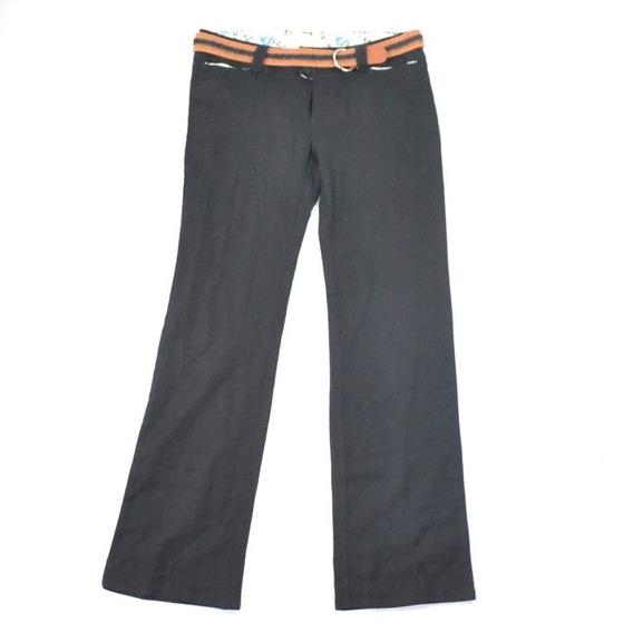 Nana Culotte Con Cinturón Negro L Msrp $700