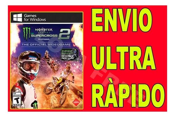 Monster Energy Supercross 2 - Jogo Para Computador