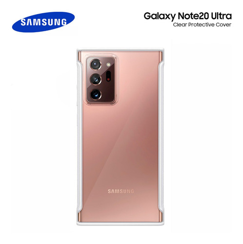 Case Galaxy Note 20 Ultra Clear Protective Cover Original