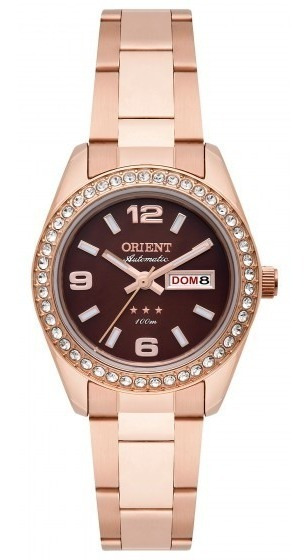 Relógio Orient 559rg008 N2rx Feminino Dourado Rosê- Refinado