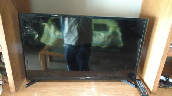 Tv Samsung Led 32 Tela Trincada