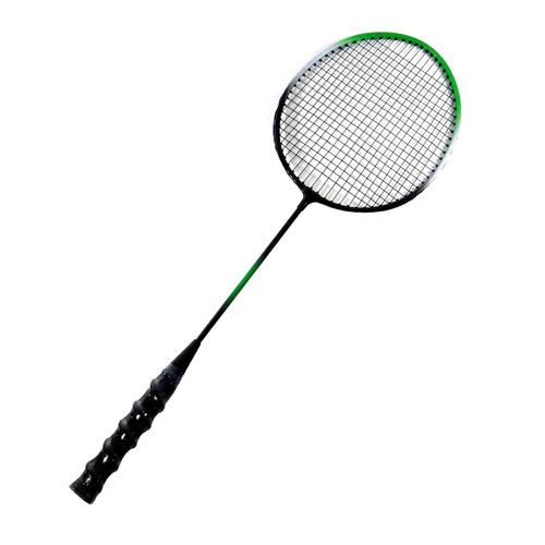 Raquetes De Badminton Verde E Preta Com Bolsa Raqueteira