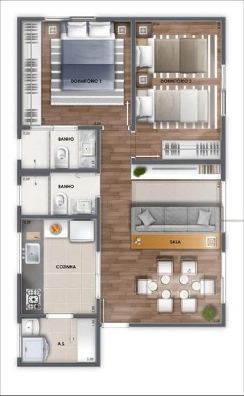 Apartamento Com 1 Dormitório À Venda, 60 M² Por R$ 286.400 - Fundação - São Caetano Do Sul/sp - Ap2826