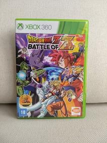 Jogo Xbox 360 Dragon Ball Z Battle Of Mídia Física Game