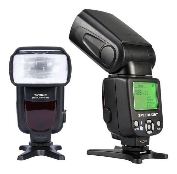 Flash Speedligt Triopo Tr-950 Universal Nikon Canon 650d 550