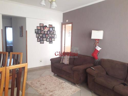 Imagem 1 de 28 de Apartamento Com 2 Dormitórios À Venda, 105 M² Por R$ 380.000,00 - Vila Belmiro - Santos/sp - Ap0207