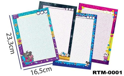 Repuestos De Folders Full Color-mhotitas-paq X 6 Und