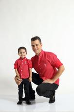 a1cee0e26 Camisa Social Masculina Tal Pai Tal Filho