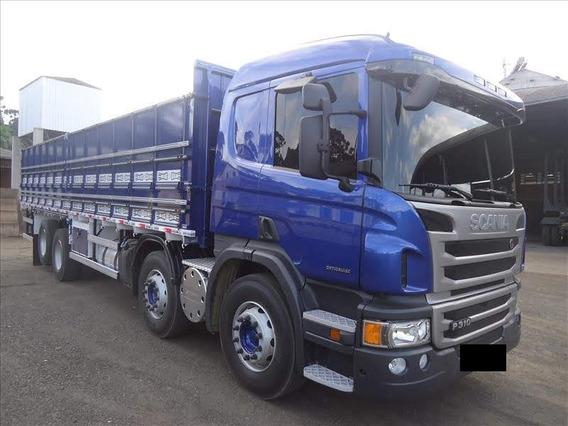 Scania P310 Ano 2018 Bitruck Graneleiro