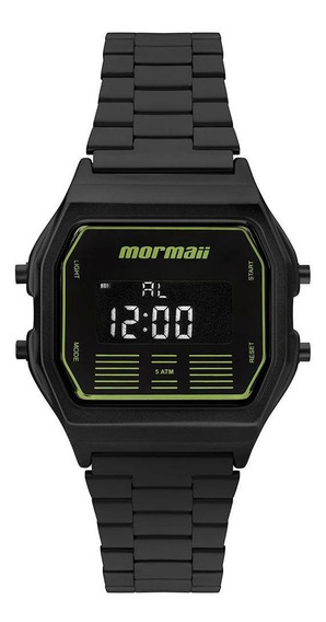 Relógio Mormaii Unissex Vintage Preto - Mobj3715a/4p