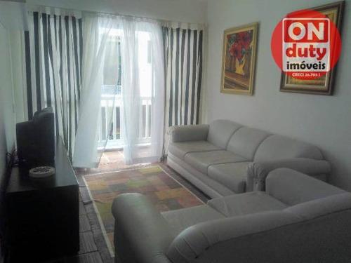 Apartamento À Venda, 82 M² Por R$ 238.000,00 - Parque Enseada - Guarujá/sp - Ap7122