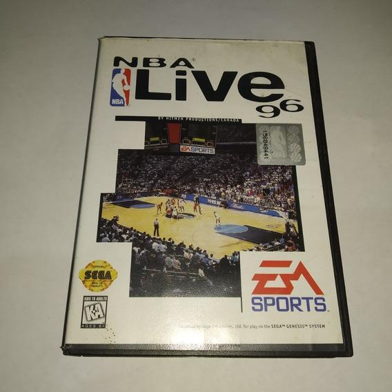 Nba Live 96 - Mega Drive Original