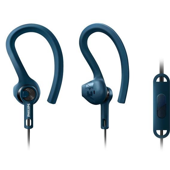 Fone De Ouvido Actionfit Gancho Earbud Com Microfone Philips