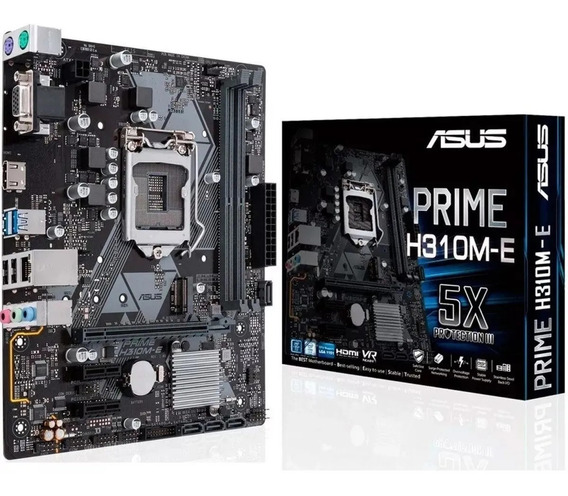 Kit Intel 9º Geração I5 9400f + H310m-e + 8gb Ddr4