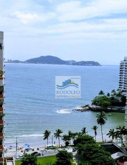 Guarujá Astúrias, 3 Dormitórios 100 Mts Da Praia, 1 Vaga, Vista Mar, 90 Metros Uteis, Ótima Localização. - Ap0829