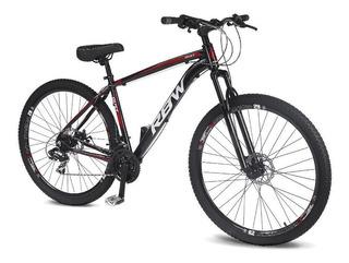Bicicleta Aro 29 Rbw Dust Amortecedor Dianteiro Preto