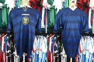 Escócia 1998 Camisa Titular Tamanho G.