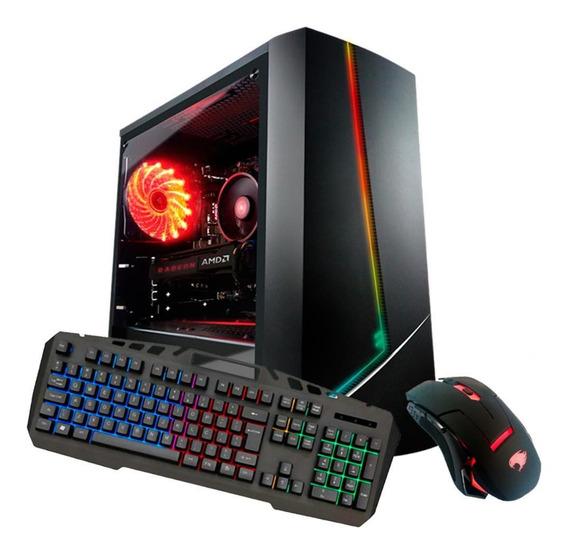 Pc Gamer Com Kit G-fire Amd 3000g 8gb Radeon 2gb Ssd 120gb
