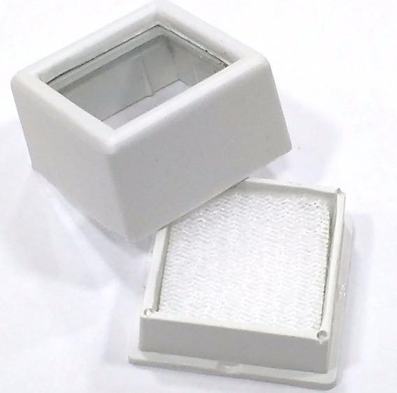 Kit 5 Caixas Plásticas P/ Pedras Lapidadas Jóias Visor Vidro