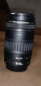 Lente Canon Proficional 90-300 Otima Pra Qualquer Imagems