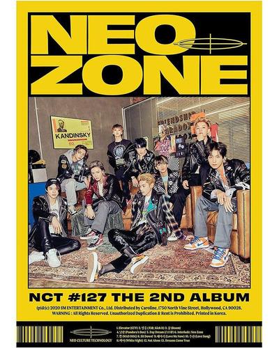 Nct 127 2nd Album Nct #127 Neo Zone [n Ver.] Import Cd Nuevo