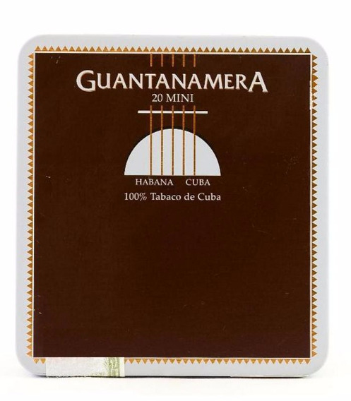 Habanos Minis Guantanamera Mini Cigarros Pack X5 Puritos