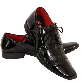 5817edf1a Sapato Chique Homem Sapatos Sociais Masculino - Calçados, Roupas e ...
