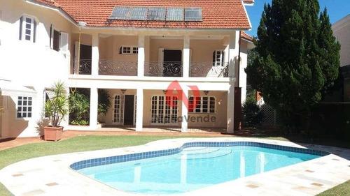 Imagem 1 de 30 de Casa Residencial À Venda, Alphaville, Santana De Parnaíba - Ca3514. - Ca3514