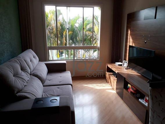 Apartamento Com 3 Dormitórios À Venda, 58 M² Por R$ 250.000,00 - Parque Villa Flores - Sumaré/sp - Ap2316