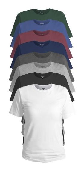 Camiseta Feminina Blusinha Moda Básica Algodão Confort Line®