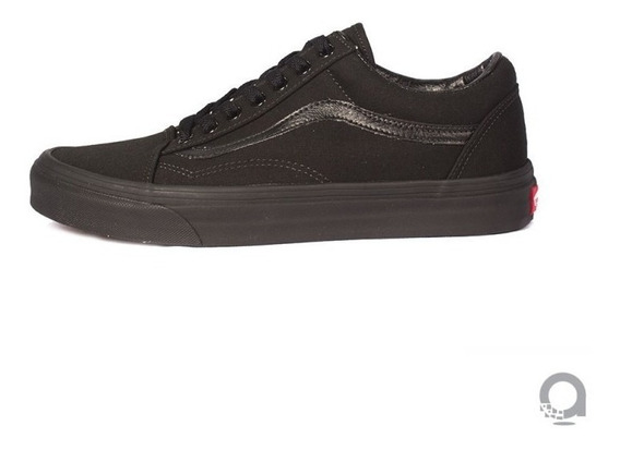 Tenis Vans Old Skool Black/black Negro Unisex 3hbka