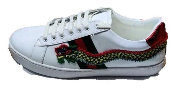 Sneakers Tenis Gucci Dragon Snake, Envío Gratis