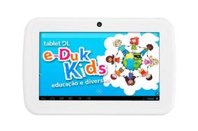 Tablet Dl Eduk Kids Com Defeito No Display