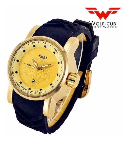 Relógio Wolf-cub 100% Original + Estojo.