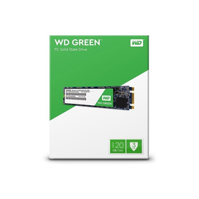 Ssd M.2 Wd Green 2280 120gb Leituras: 545mb/s Wds120g2g0b