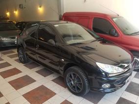 Peugeot 206 1.9 Xrd Premium Negro 5ptas Financio 100%