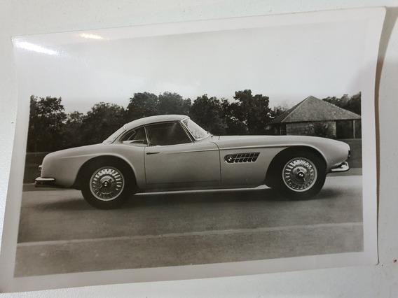 Antigua Postal Foto Original Bmw V8 Touring Sport 1955