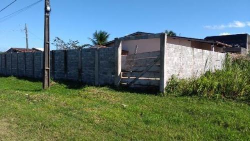 Terreno Murado No Balneário São Jorge, Em Itanhaém, Ref. 565