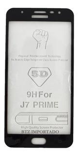 Película Vidro 3d Sm J7 Prime Cobre Tela Toda Novo