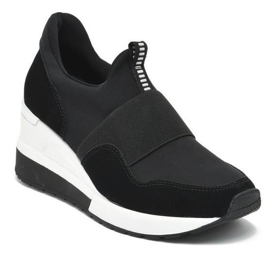 Tenis Via Marte 20-1206 Sneaker Feminino Flatform Anabela !!