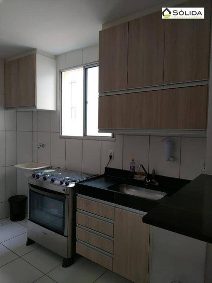 Apartamento Com 2 Dormitórios À Venda, 46 M² Por R$ 205.000 - Vila Imape - Campo Limpo Paulista/sp - Ap0732
