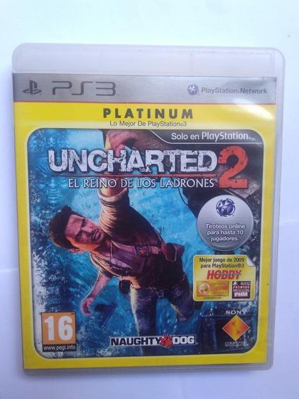 Jogo Uncharted 2 El Reino De Los Ladrones Ps3 R$49,90
