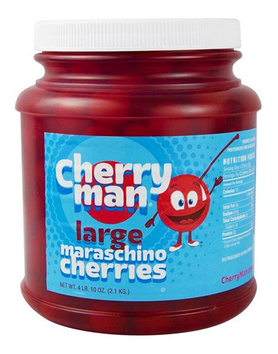 Cherry Man Cerezas Maraschino Grandes - kg a $26000