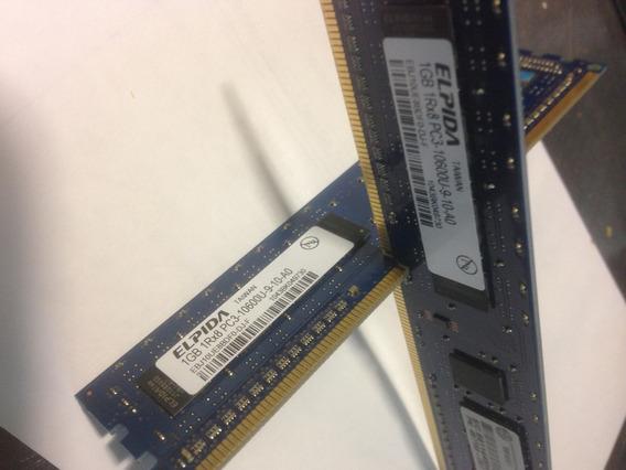 Ram Ddr3 2gb 2x1 Pc3-10600u Hp-elpida