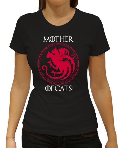 Playera Mother Of Cats