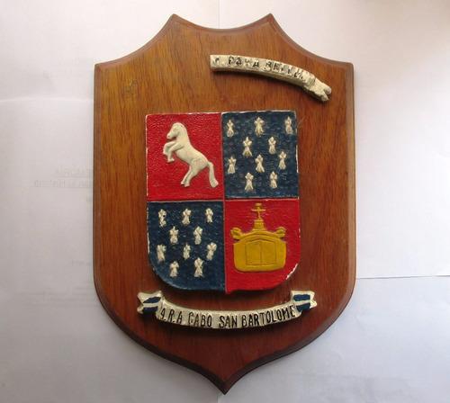 Antiguo Escudo A.r.a. Cabo San Bartolomé - Militaria