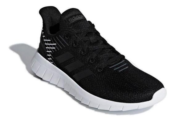 Tênis Running adidas Feminino Asweerun F36339 Preto/branco