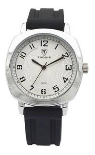 Relógio Masculino Tuguir Analógico 5015 A Prova Dagua