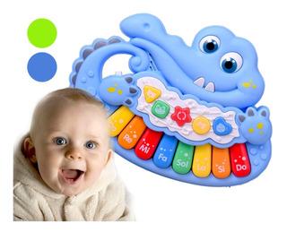 Cocodrilo Tierno Juguete Piano Bebés Didáctico Envío Gratis