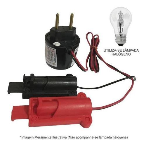 Imagem 1 de 3 de Carregador Portátil Bateria Carro Moto 110/220v Energiscar